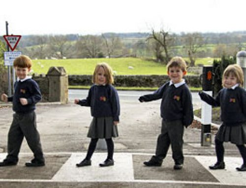 School Unveils Safer Traffic Zone